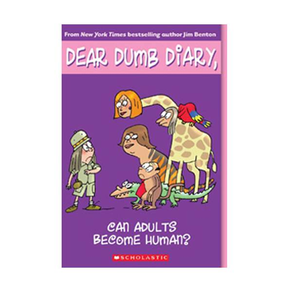 RL 5.9 : Dear Dumb Diary Series #5 : Can Adults Become Human? (Paperback)