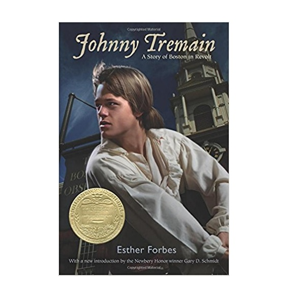 RL 5.9 : Johnny Tremain : A Stroy of Boston in Revolt (Paperback, Newbery)