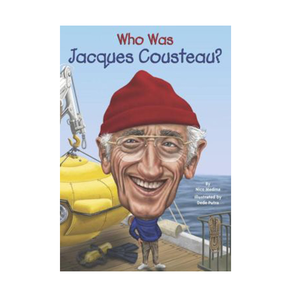 Who Was Jacques Cousteau? (Paperback)