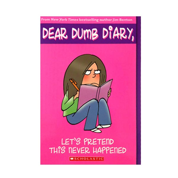 RL 6.1 : Dear Dumb Diary Series #1 : Let's Pretend This Never Happened (Paperback)