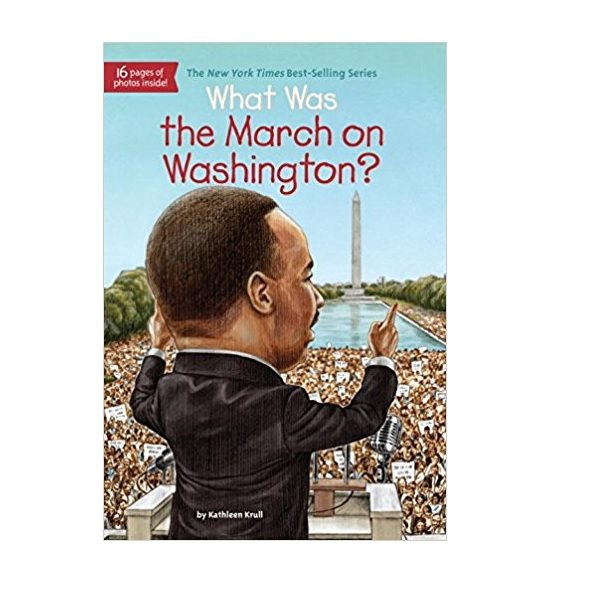 RL 6.1 : What Was the March on Washington? (Paperback)