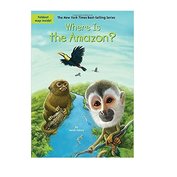 RL 6.2 : Where Is the Amazon? (Paperback)