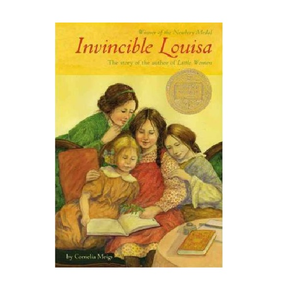 RL 8.0 : Invincible Louisa : The Story of the Author of Little Women (Paperback, Newbery)
