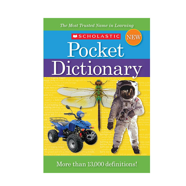 [스콜라스틱] Scholastic Pocket Dictionary (Pocket Paperback)
