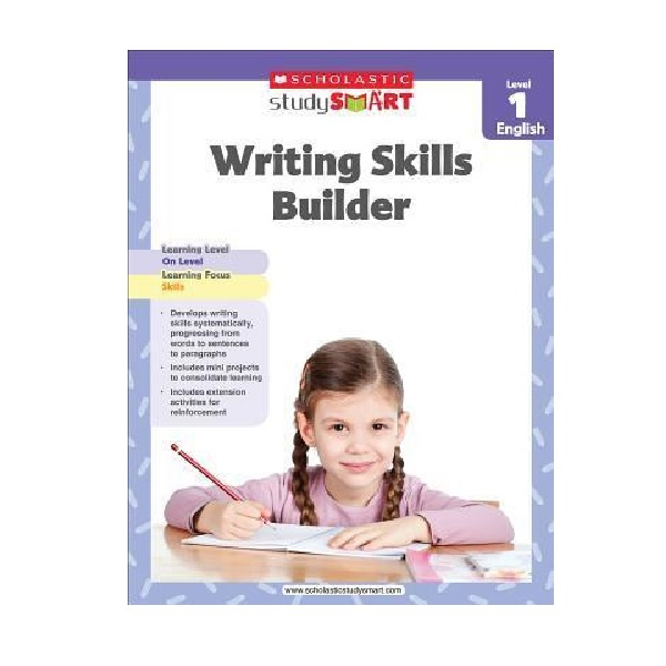 Scholastic Study Smart : Writing Skills Builder Level 1 (Paperback)
