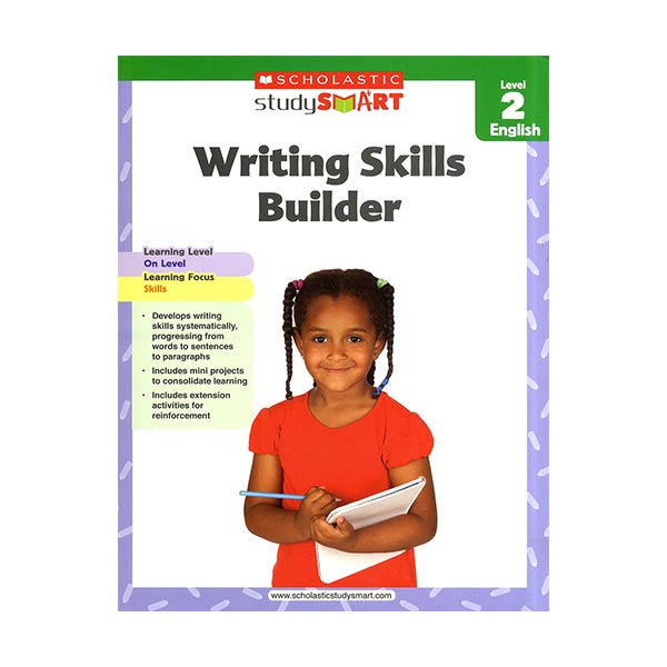 Scholastic Study Smart : Writing Skills Builder Level 2 (Paperback)