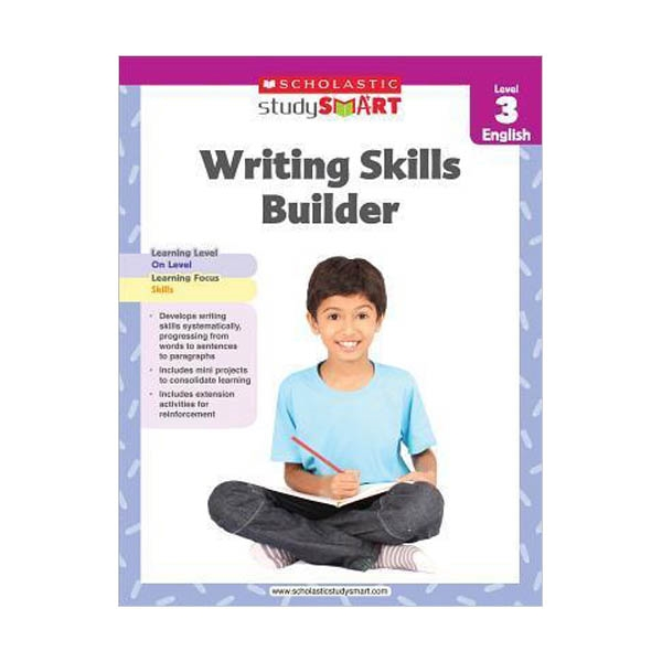 Scholastic Study Smart : Writing Skills Builder Level 3 (Paperback)