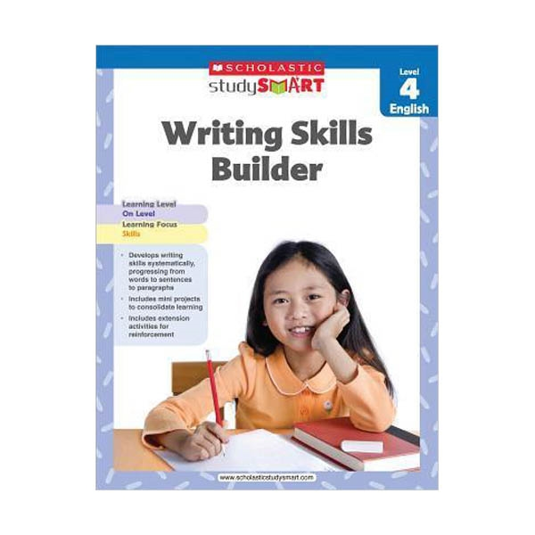 Scholastic Study Smart : Writing Skills Builder Level 4 (Paperback)