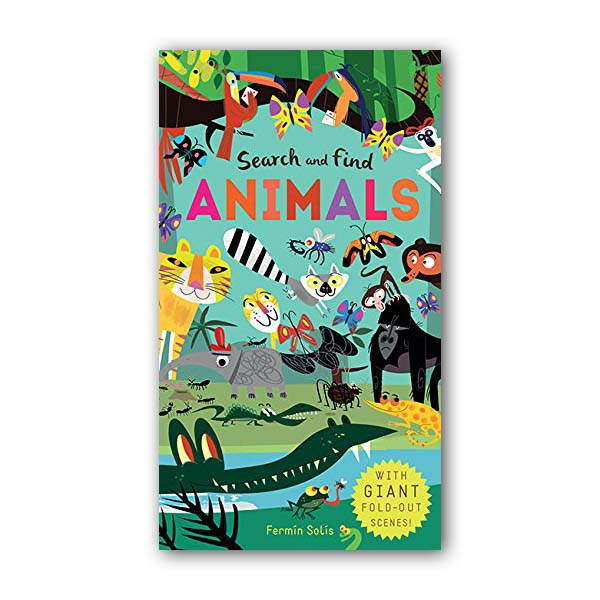 Search and Find Animals (Hardcover, 영국판)