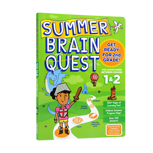 Summer Brain Quest : Between Grades 1 & 2 (Paperback)