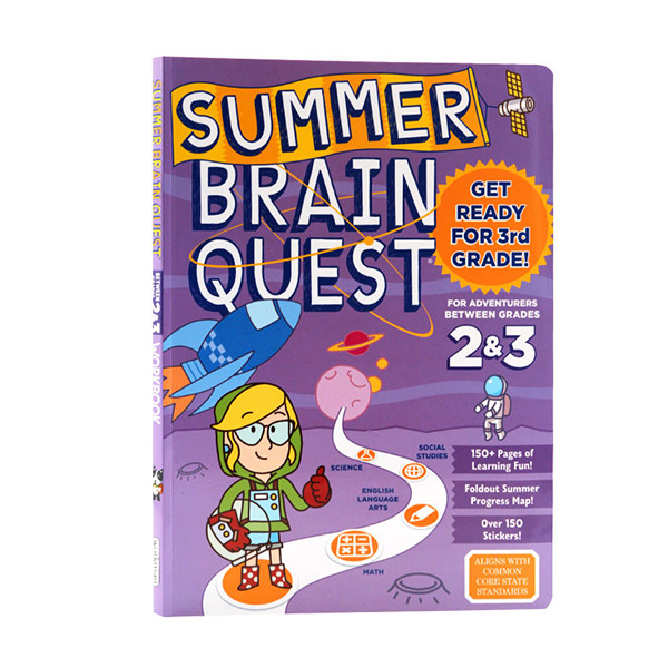 Summer Brain Quest : Between Grades 2 & 3 (Paperback)