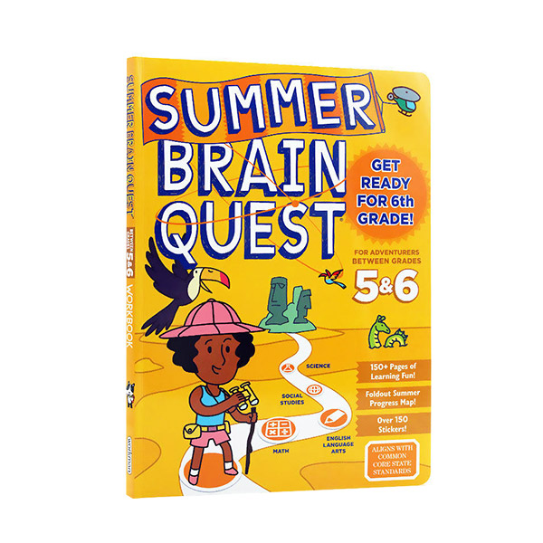 Summer Brain Quest : Between Grades 5 & 6 (Paperback)