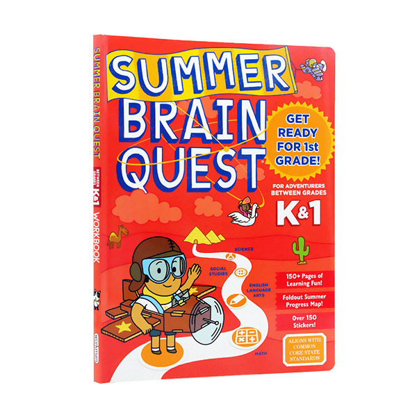 Summer Brain Quest : Between Grades K & 1 (Paperback)