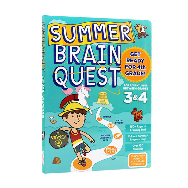 Summer Brain Quest: Between Grades 3 & 4 (Paperback)