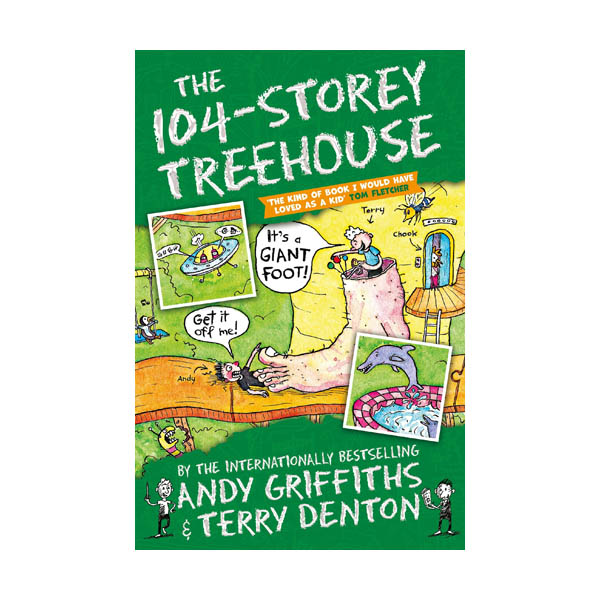 나무집 104층 : The 104-Storey Treehouse (Paperback, 영국판)