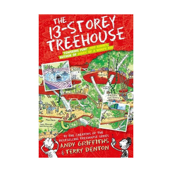 The 13-Storey Treehouse Books : Story Treehouse (Paperback, 영국판)