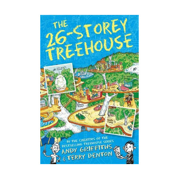 The 26-Storey Treehouse Books : Story Treehouse (Paperback, 영국판)