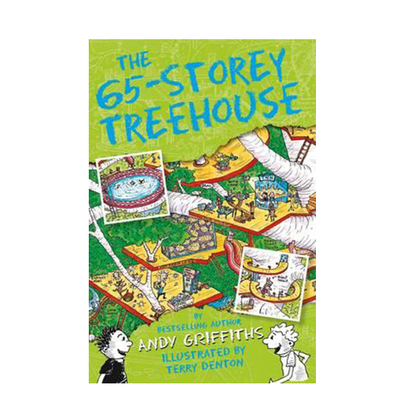 나무집 65층 : The 65-Storey Treehouse Books (Paperback, 영국판)