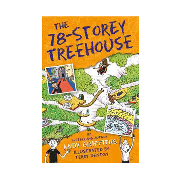 The 78-Storey Treehouse Books : Story Treehouse (Paperback, 영국판)