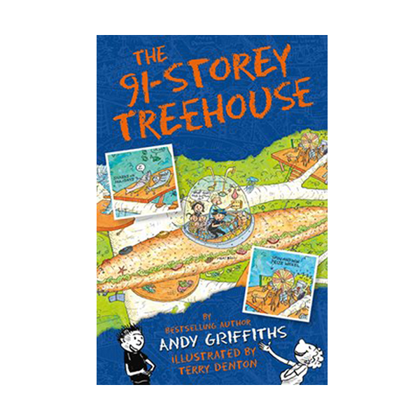 나무집 91층 : The 91-Storey Treehouse Books (Paperback, 영국판)