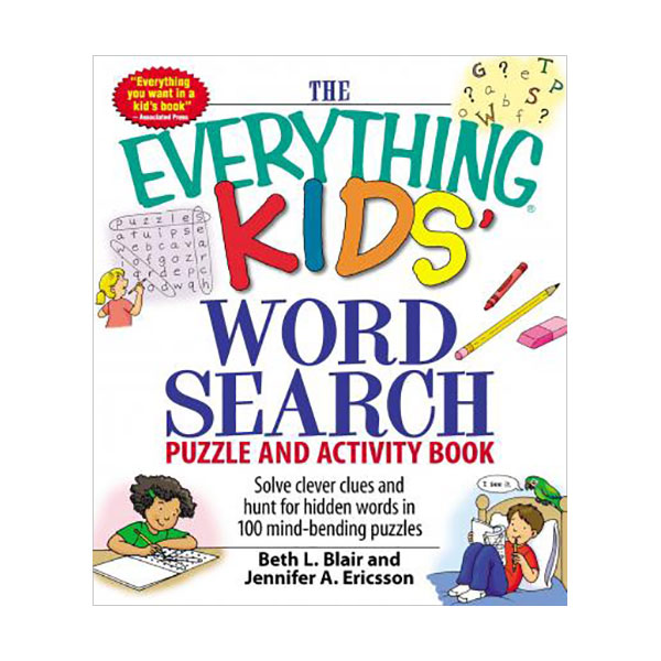 The Everything Kids' Word Search : Puzzle and Activity Book (Paperback)