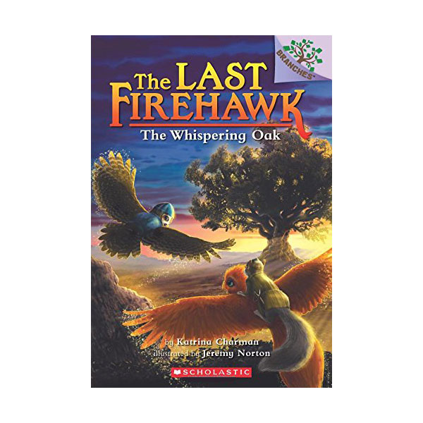 The Last Firehawk #03 : The Whispering Oak (Paperback)