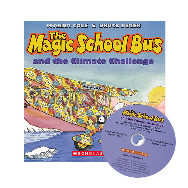 The Magic School Bus and the Climate Challenge (Book & CD)