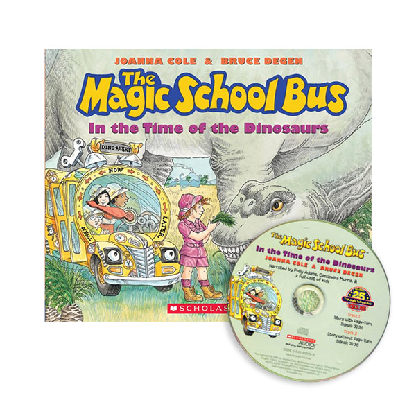 The Magic School Bus in the Time of Dinosaurs (Book & CD)