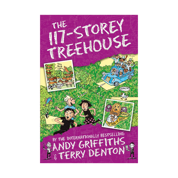 나무집 117층 : The 117-Storey Treehouse Books (Paperback, 영국판)