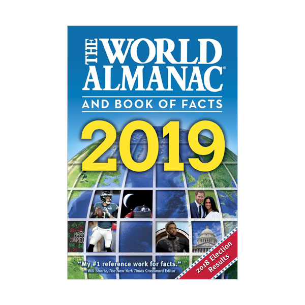 [가격인하] The World Almanac and Book of Facts 2019 (Paperback)