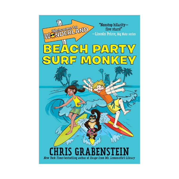 Welcome to Wonderland #02 : Beach Party Surf Monkey (Paperback)