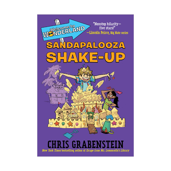 Welcome to Wonderland #03 : Sandapalooza Shake-Up (Paperback)
