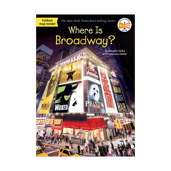 Where Is Broadway? (Paperback)