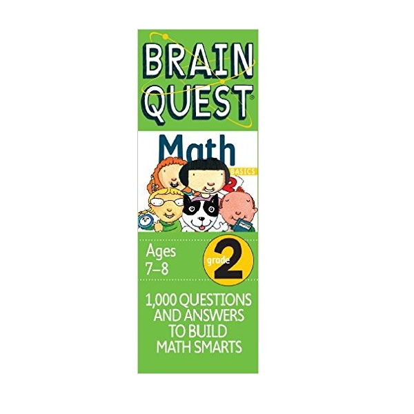 Brain Quest Math : Grade 2 Ages7-8 (Cards, Revised 2nd Edition)