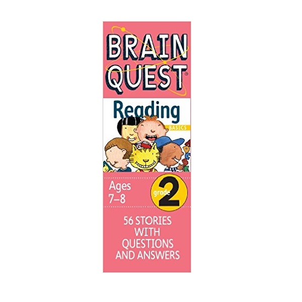 [가격인하] Brain Quest Reading : Grade 2 Ages7-8 (Cards, Revised 2nd Edition)