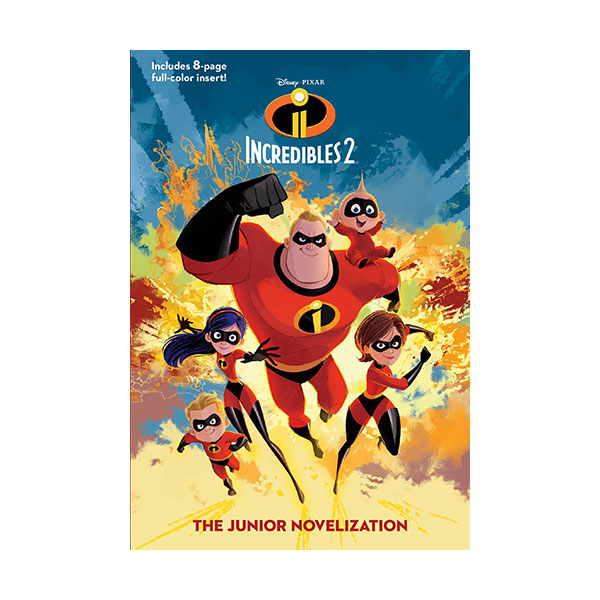 [가격인하] Incredibles 2: The Junior Novelization (Paperback)