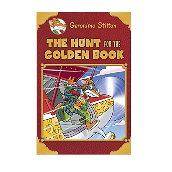 Geronimo Special Edition : Hunt for the Golden Book (Hardcover)