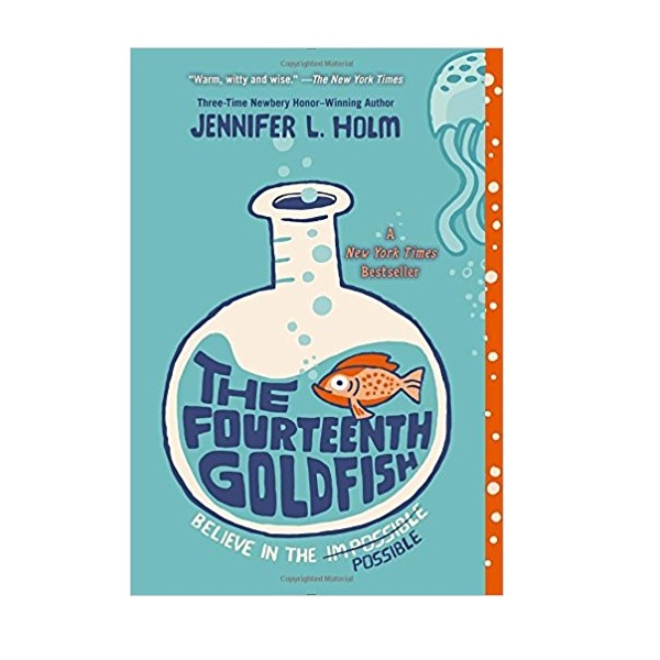 [모닝캄 2015-16] The Fourteenth Goldfish : 열네 번째 금붕어 (Paperback)