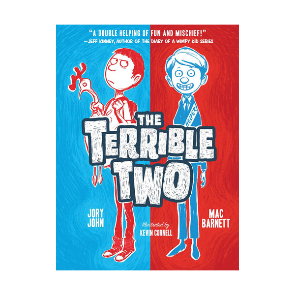 [모닝캄 2016-17 위너] RL 4.5 : Terrible Two #01 : The Terrible Two (Paperback)