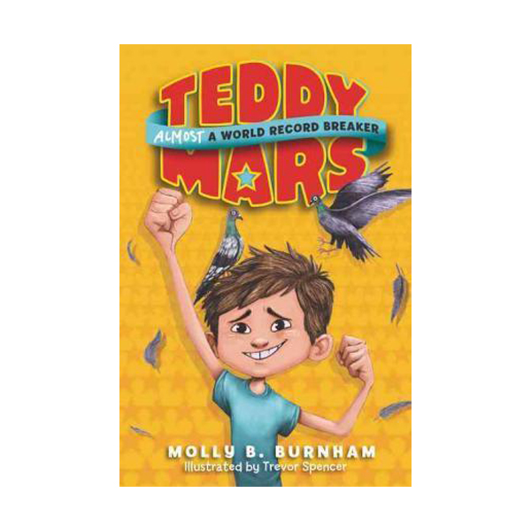 [모닝캄 2017-18] Teddy Mars #01 : Almost a World Record Breaker (Paperback)