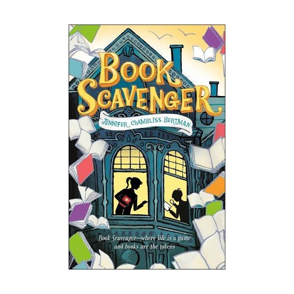 [모닝캄 2017-18] The Book Scavenger #01 : Book Scavenger (Paperback)
