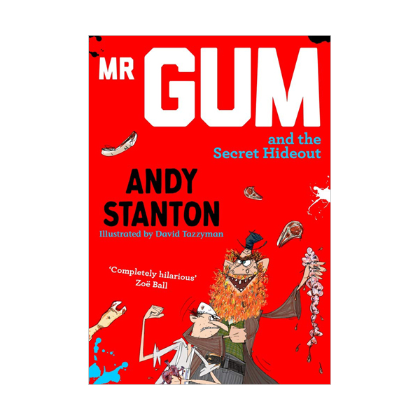 [미스터검 #8] Mr Gum and the Secret Hideout (Paperback)