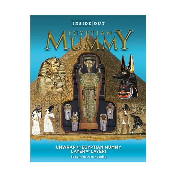 [정가인하] Inside Out Egyptian Mummy: Unwrap an Egyptian mummy layer by layer! (Hardcover)