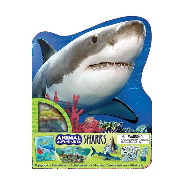 Animal Adventures : Sharks (Activity Book)