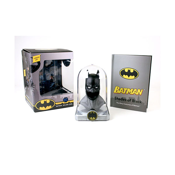 Batman : Deluxe Cowl: Lights up! (Mixed Media Product, Paperback)