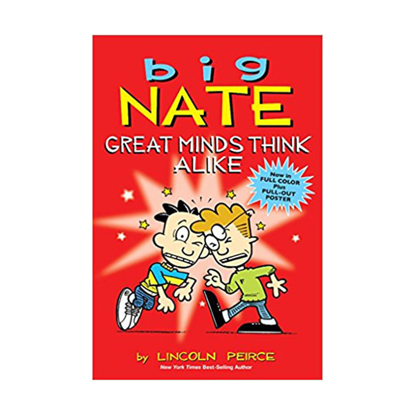 Big Nate Great Minds Think Alike : Color Edition (Paperback)