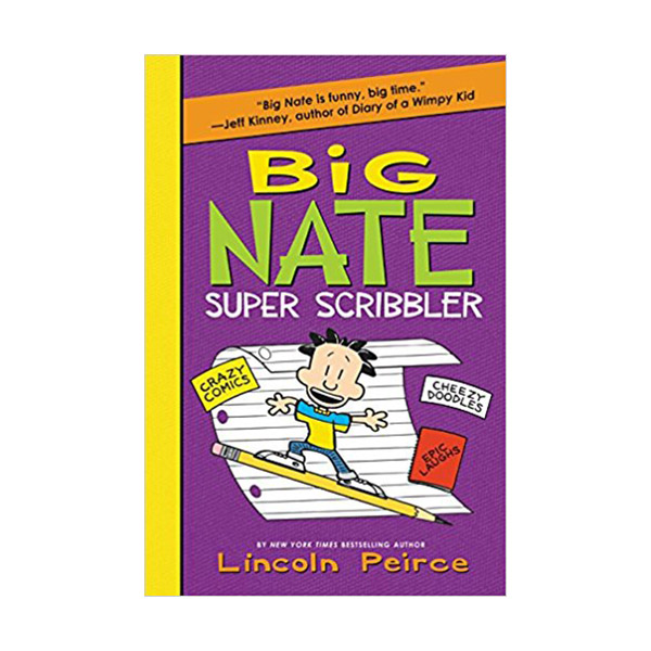 Big Nate Super Scribbler : Activity book (Paperback)