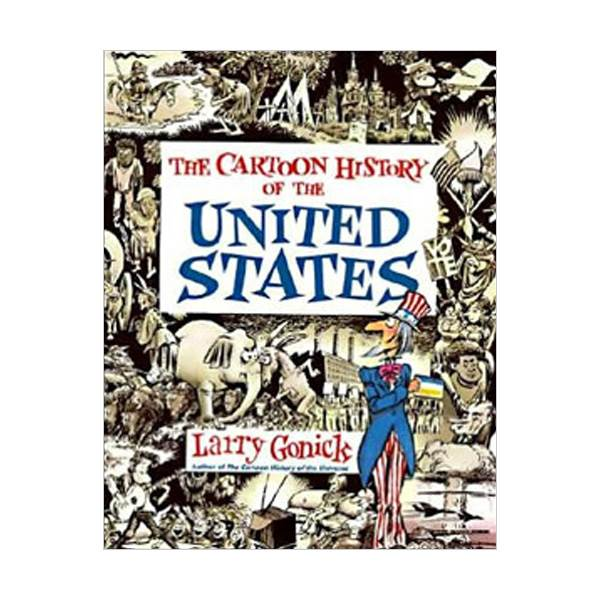 Cartoon History of the United States (Paperback)