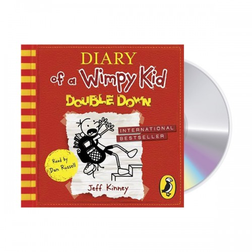 Diary of a Wimpy Kid #11 : Double Down (Audio CD, 영국판,도서별도구매)