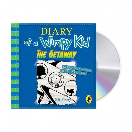 Diary of a Wimpy Kid #12 : The Getaway (Audio CD,영국판)